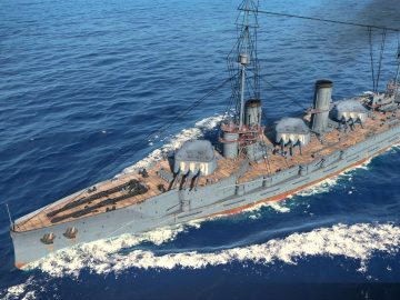 Линкоры в World of Warships