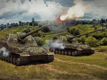 САУ в World of Tanks