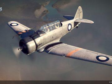 Самолёты Великобритании в World of Warplanes