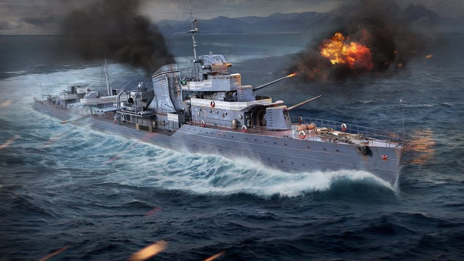 Эсминцы в World of Warships